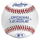 Official League Practice Baseball with Leather Cover