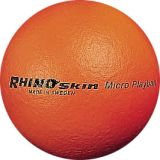 Rhino Skin Foam Ball, Micro Playball, 5 Orange