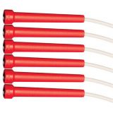 7' Rhino® High Performance Licorice Speed Rope Set of 6, Red Handle