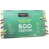 Best Buy Crayon Assortment, Standard Size, 800 ct.