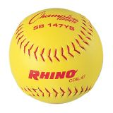 11 Synthetic Leather Cover Softball with .47 Poly Core, 1 Dozen