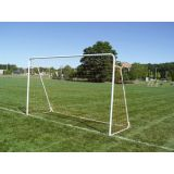 Indoor/Outdoor Folding Steel Goal, 7'H x 12'W x 4'D, includes net