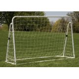 3 IN 1 Trainer Soccer Goal Set, 6'Wx4'Hx3'D