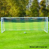 Soccer NOVA Ultimate Portable Goal, 8'H x 24'W x 4'B x 10'D, Flush Mount Easy Track Net Attachment System with Fold-up Rear Frame