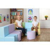 Classic Modular Seating Set, Pastel Colors