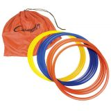 16 Speed Ring Set of (12) Colored Plastic Rings