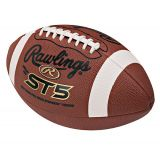 Soft Touch Practice Leather Football, Official Size