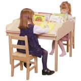 Sloped Reading/Activity Table, 27H x 32W x 32D