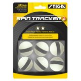 Spin Tracker Table Tennis Balls, 6-Pack