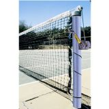 Permanent/Semi-Permanent Galvanized Steel Tennis Posts, 1.75 diameter Pulley and Tensioning Ratchet