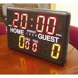 Table Top Scoreboard with LED and Buzzer, 15H x 24W x 10D