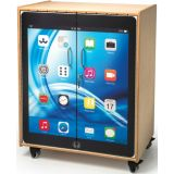 Tablet Printeed Security Cabinet