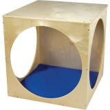Cube with Floor Pad