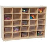 Contender™ 25 Tray Storage with Translucent Trays, Assembled