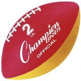 Official Size Football Trainer, Red/Yellow