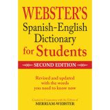 Webster's Spanish-English Dictionary for Students, 2nd Edition