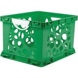Interlocking Crate, Large, Green