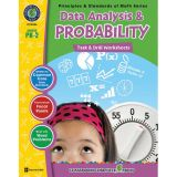 Principles & Standards of Math Task & Drill Worksheets, Data Analysis & Probability, Grades PreK-2