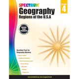 Spectrum® Geography: Regions of the U.S.A., Grade 4
