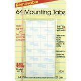 Magic Mounts® Mounting Tabs, 1/2 x 1/2, Pack of 64