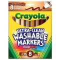 Crayola® Multicultural Washable Markers, 8 count, 1 each of 8 colors