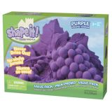 ShapeIt! Sand 5 lb. Refill, Planet Purple