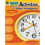 101 Activities for Fast Finishers, Grade 5