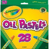 Crayola® Oil Pastels, 28 color set