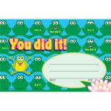 You did it!–Frogs Recognition Awards