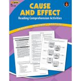 Cause and Effect Reading Comprehension Activities, Blue Level