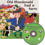 Classic Books with Holes plus CD, Old MacDonald Had a Farm
