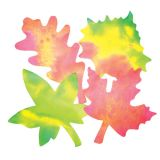 Color Diffusing Paper, Leaves, 80 sheets