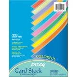 Pacon® Card Stock, Colorful Assorted