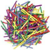 Craft Sticks, Bright Hues, 150 pieces