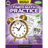 Minutes to Mastery: Timed Math Practice, Grade 5