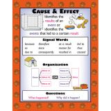Informational Text Structures Teaching Poster Set