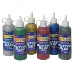 Glitter Glue, 4 oz., Multi-Color