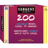 Sargent Art® Best-Buy Washable Marker Assortment, Classic Chisel Tip