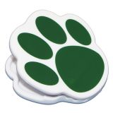 Green Paw Magnet Clip