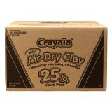 Crayola® Air-Dry Clay, 5 lb. Tub, Terra Cotta