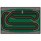 KID$ Value Rugs™, Super Speedway Racetrack Rug, 4' x 6'