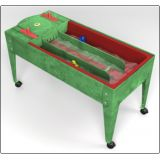 Wave Rave™ Activity Center with Sand & Water Table, Green
