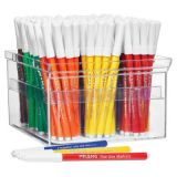 Prang® Classic Art Markers, Fine Line, Master Pack, 12 Each of 12 Colors