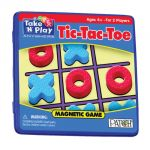 Tic-Tac-Toe Magnetic Game Tin