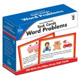 CenterSOLUTIONS™ Task Cards: Word Problems, Grade 2