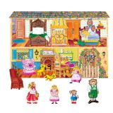 Goldilocks & The Three Bears Flannelboard Set