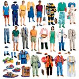Community Helpers Flannelboard Set