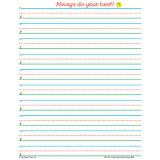 Smart Start Handwriting Series, Writing Paper, Grades 1-2, 100 sheets