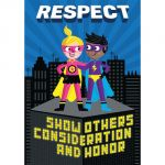 Superhero Character Ed Inspire U™ Poster Pack, Set of 6