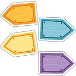 Nature Explorers Mini Colorful Cut-Outs®,Wood Signs